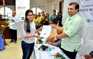 Inauguration of Goa's First Citizen Service Centre (CSC