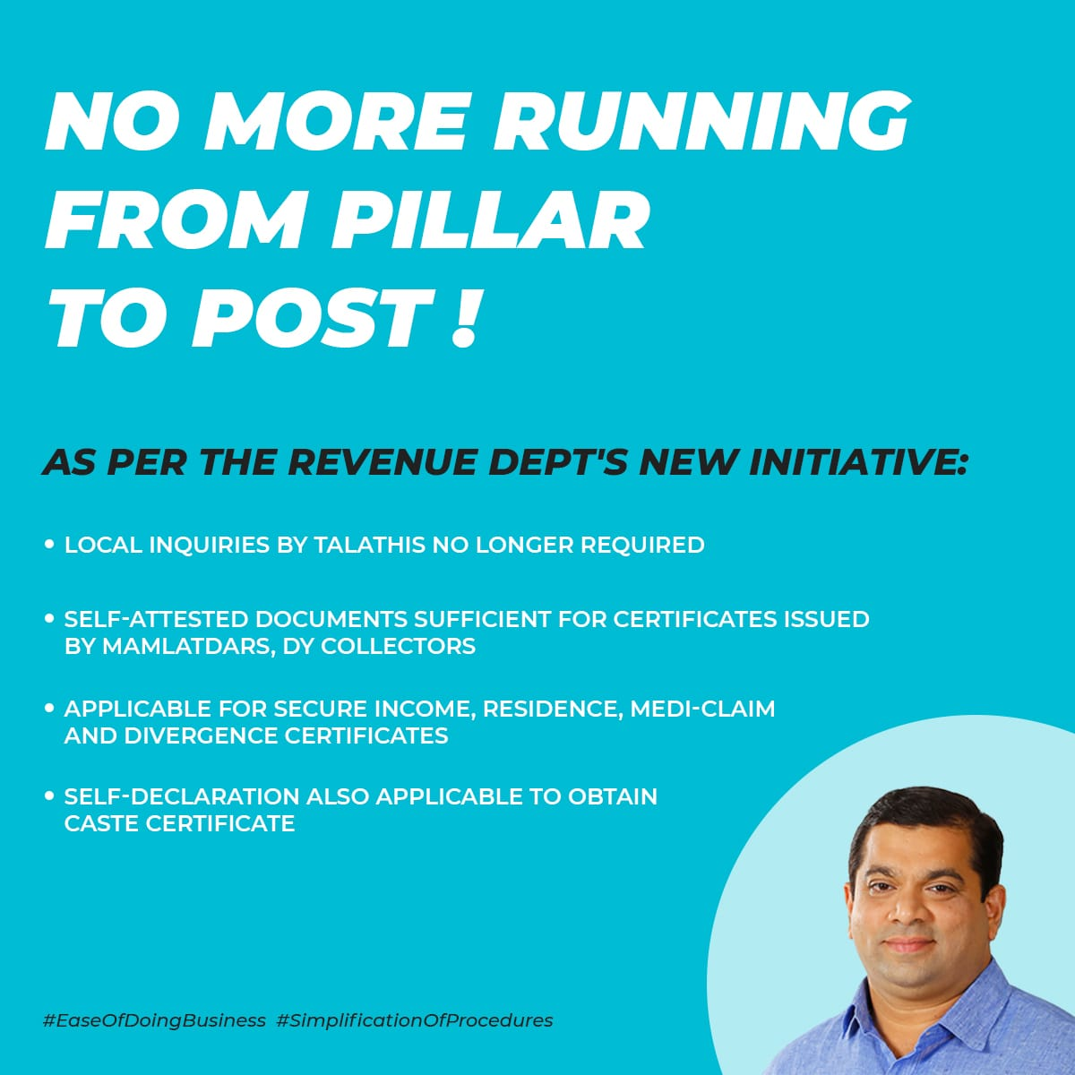 from pillar to post