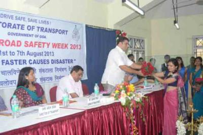 3rd State Road Safety Week 2013