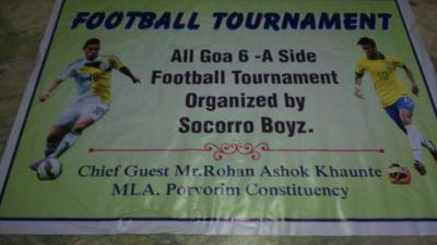 All Goa 6-A side football tournament Finals