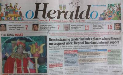 Aswachha Beaches, Corrupt Government