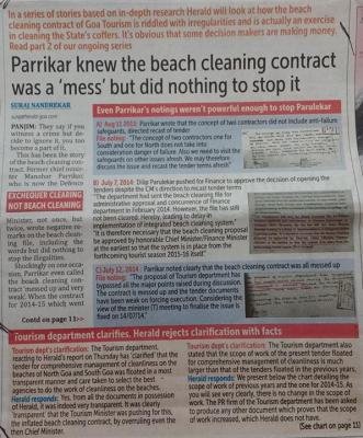 Beach Cleaning Scam