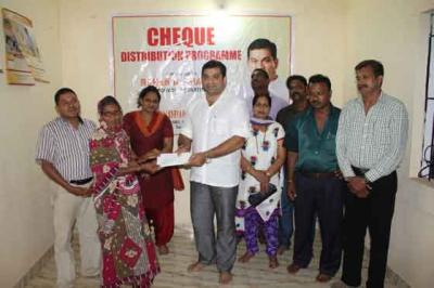 Cheque Distribution